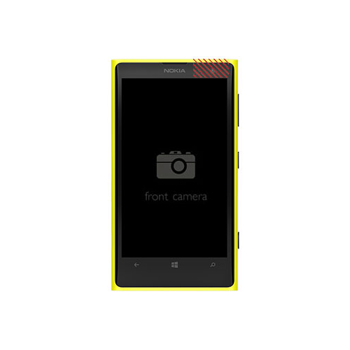 Nokia Lumia 1020 Front Camera Replacement