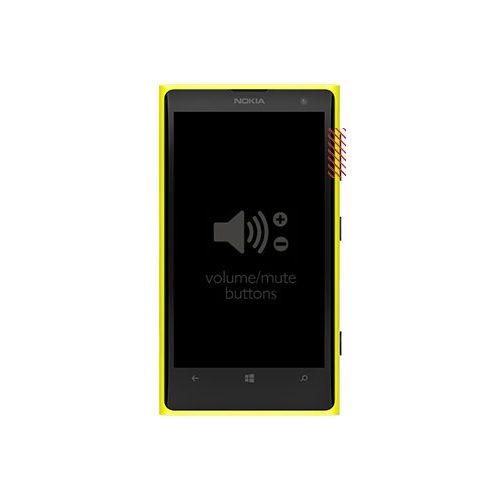 Nokia Lumia 1020 Volume Button Replacement