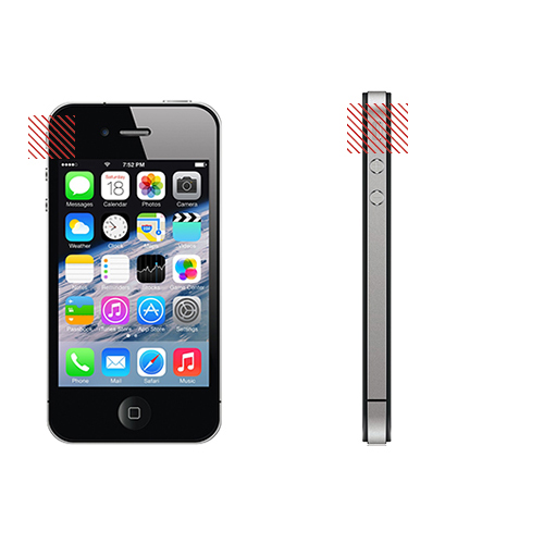 iPhone 4S Silent Button Replacement Service