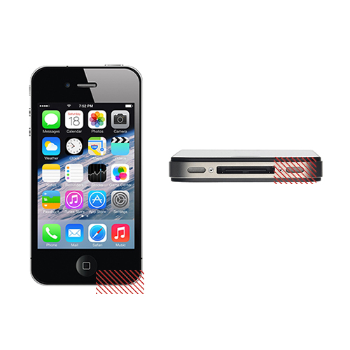 iPhone 4G External Microphone Replacement Service