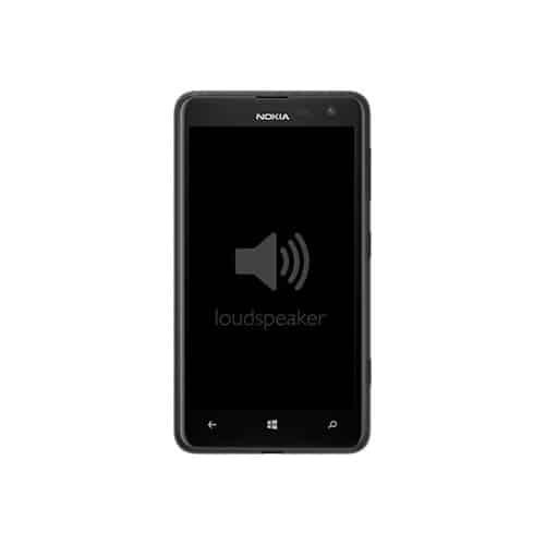 Nokia Lumia 625 Loudspeaker Replacement