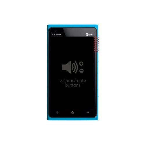 Nokia Lumia 900 Volume Button Replacement