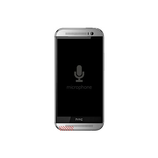 HTC One (M8) External Microphone Replacement