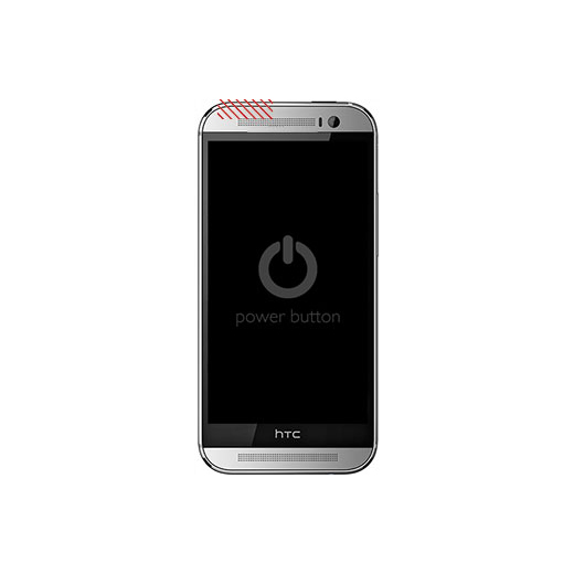 HTC One (M8) Power/Lock Button Replacement