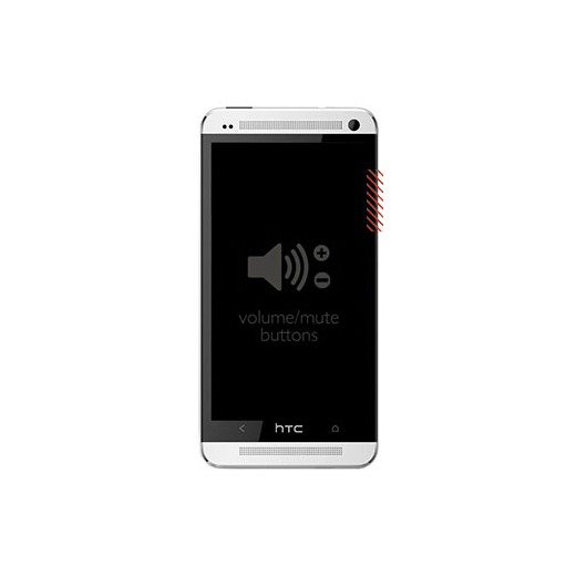 HTC One (M7) Volume Button Replacement