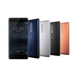 Nokia 1, 2, 3, 5, 6, 7, 8
