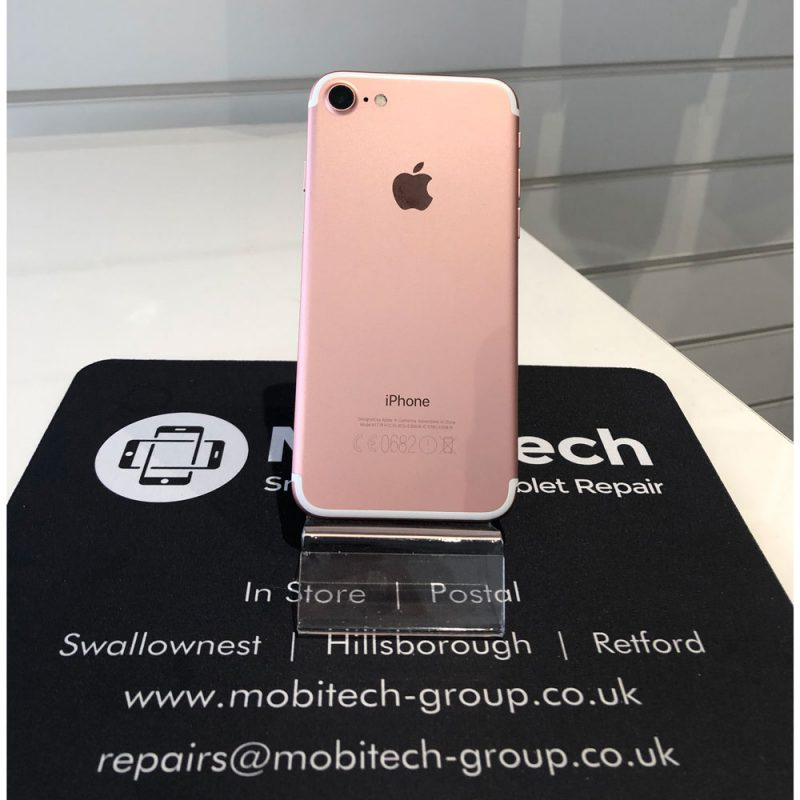 Apple iPhone 7 – 32GB – Rose Gold – O2/GiffGaff