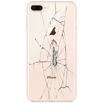iPhone 8 Plus Rear Glass Cover Only Replacement Service